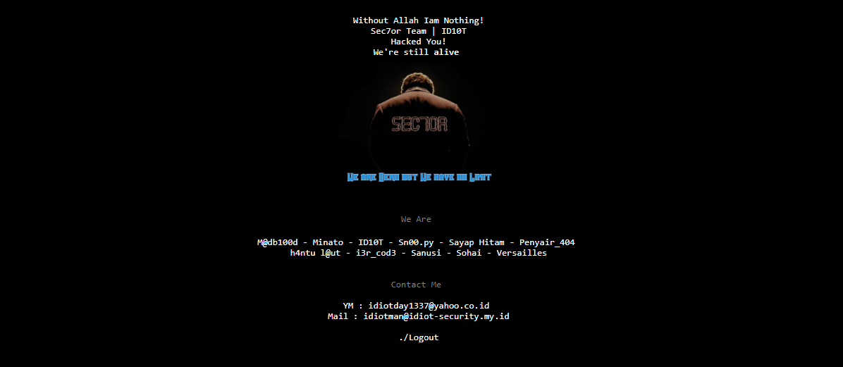 Website Lembaga Sensor Film Dijahili Hacker